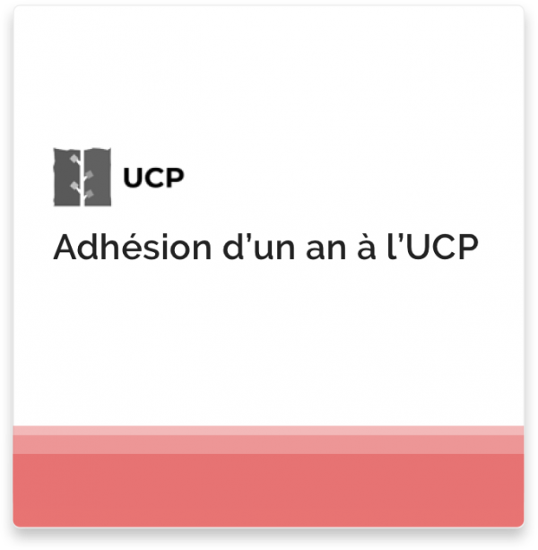 Adhésion à l'UCP