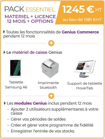 Genius Essentiel + option