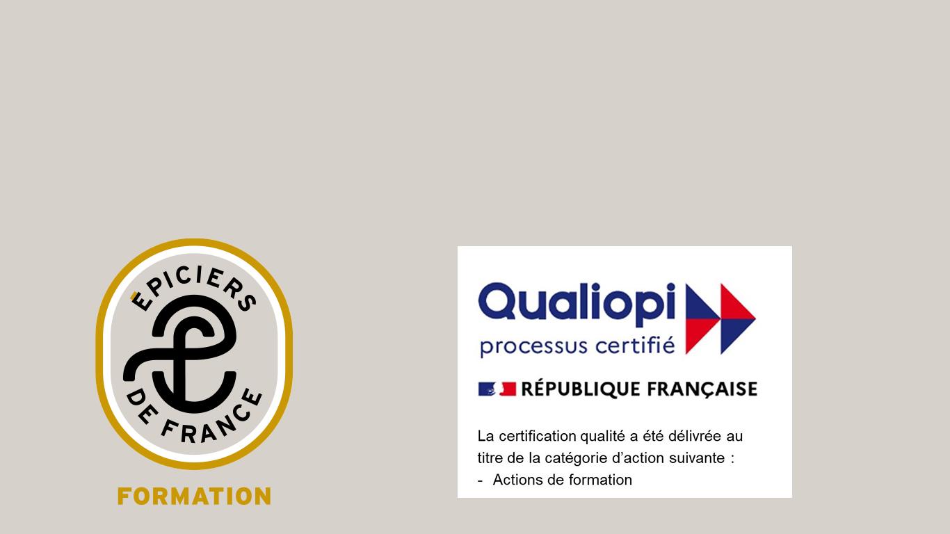 Epiciers de France Formation certifié Qualiopi